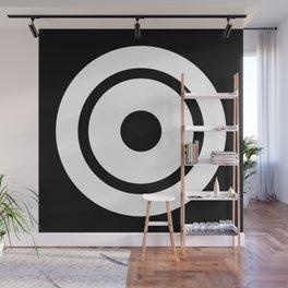 Bullseye Wall Mural