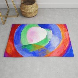 Robert Delaunay Circular Forms Rug