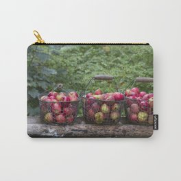 Autumn Apples Rustic Organic Food Still Life Carry-All Pouch