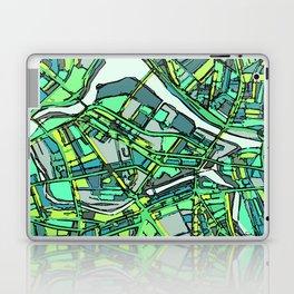 Abstract Map- Lowell MA Laptop & iPad Skin