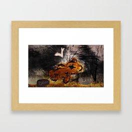 The fallen ones Framed Art Print