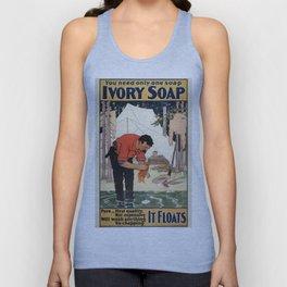 Vintage poster - Soap Unisex Tank Top
