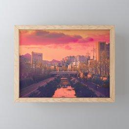 Seongbuk Sunsets Framed Mini Art Print