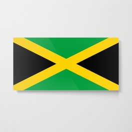 Flag of Jamaica Metal Print