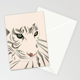 Tiger's Tranquility Stationery Cards
