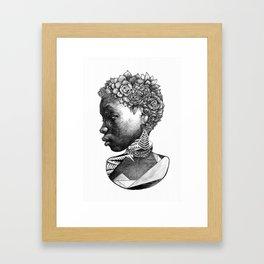Song For Carliene Framed Art Print