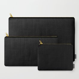 Simply Midnight Black Carry-All Pouch