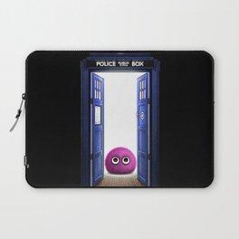 Tardis And Cute Monster Laptop Sleeve