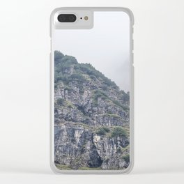In the fog Clear iPhone Case
