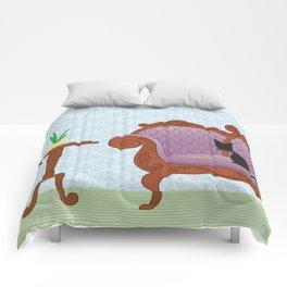 The Naughty Kitten: Polite Company Comforters