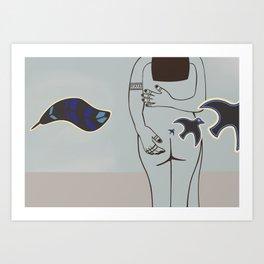 The Flight of Embrace Art Print