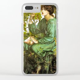 The Daydream 1880 Pre Raphaelite Beauty Clear iPhone Case