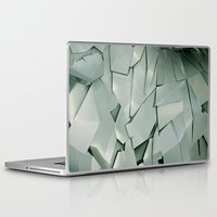 metal Laptop & iPad Skins featuring METAL by peocle