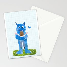 Monster hug. Stationery Cards