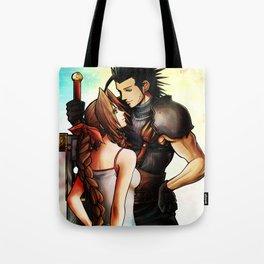 Zack and Aerith Tote Bag
