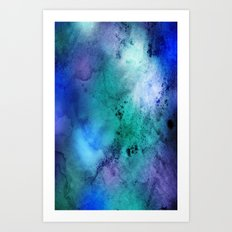 Handmade Texture Art Print