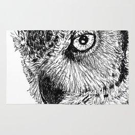 Ink Owl Rug