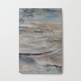 Abstract Australian gum tree Metal Print