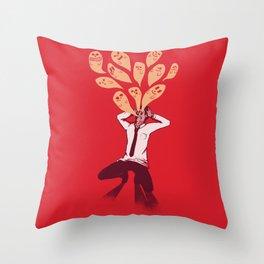 Overload Throw Pillow