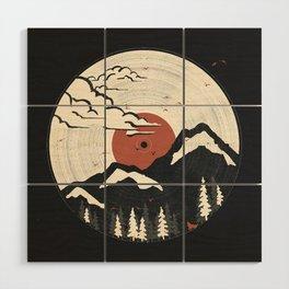 MTN LP... Wood Wall Art