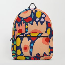 Life's Dance French Art Abstract Pattern Fashion Backpack
