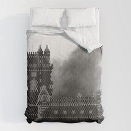 HexArchi - Portugal, Lisboa, Torre de Belém Comforters