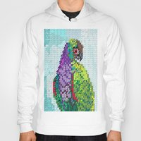 parrot Hoodies featuring Parrot  by Suburban Bird Designs