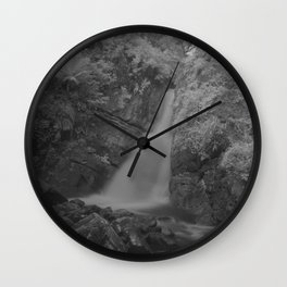 La Mina Falls IR Wall Clock