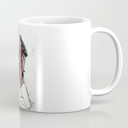 Sexy Black Cat Coffee Mug