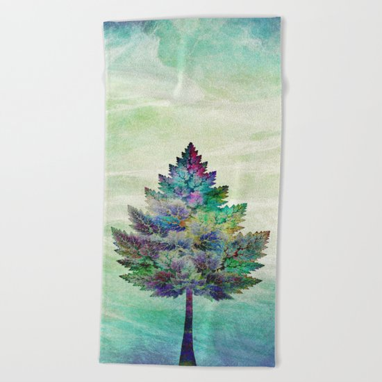 The Magical Tree Beach Towel