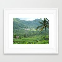 indonesia Framed Art Prints featuring Indonesia by Melia Metikos