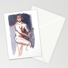 PRINCE, Nude Male by Frank-Joseph Stationery Cards
