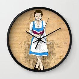 Reading Belle Wall Clock