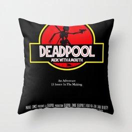 Deadpool : Merc with a Mouth Throw Pillow
