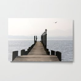 Chiemsee, Bavaria, Germany Metal Print
