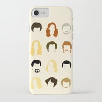 quotes iPhone & iPod Cases featuring Boogie Quotes by Derek Eads