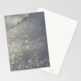 Snowflakes 3 Stationery Cards