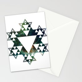 Stars and Stars Stationery Cards