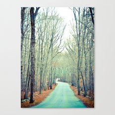 Off the Grid Canvas Print