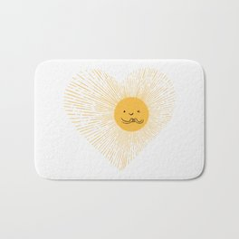 You are the Sunshine of my heart Bath Mat