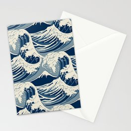 Sea ​​Wave Stationery Cards