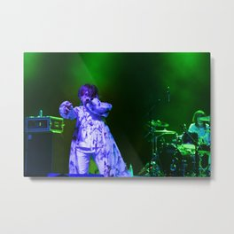 ACME (Purple and Green) Metal Print