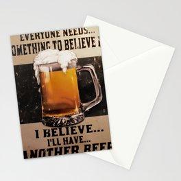 Booze Advert 1 Stationery Cards