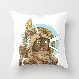 Bravery! Throw Pillow