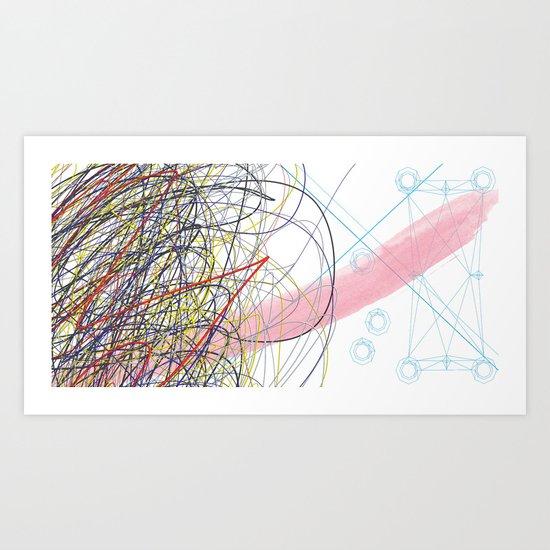 Failure creates an Invention Art Print