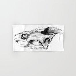 Snapping Turtle Skull Hand & Bath Towel