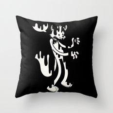 Cat Melt Throw Pillow