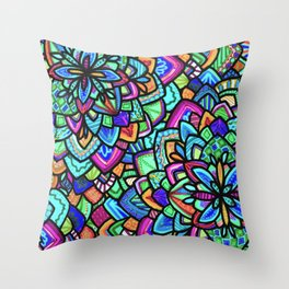 Foral Throw Pillow