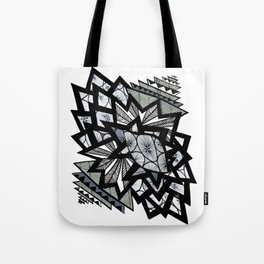 triangle victory doodle Tote Bag