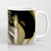 biggie smalls Mugs featuring The Notorious B.I.G (Biggie Smalls) by darylrbailey